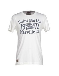 Marville T Shirts Dark Blue