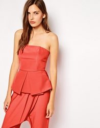Finders Keepers Raise A Glass Bustier Top Cherrytomato
