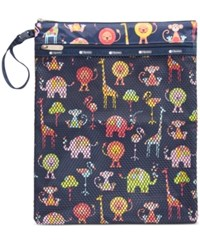 Le Sport Sac Lesportsac Wet Dry Pouch Zoo Cute