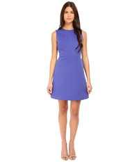 Kate Spade Cut Out A Line Dress Indigo Ink Women's Dress Navy
