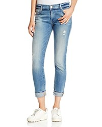 True Religion Liv Relaxed Skinny Jeans In Blue Haven