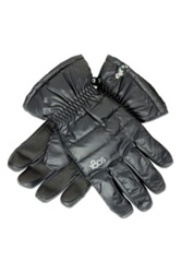 180S Quilted Gloves Black