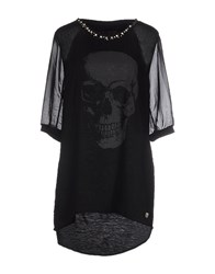 Philipp Plein Couture Topwear T Shirts Women Black