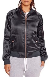 Missguided Women's Satin Bomber Jacket