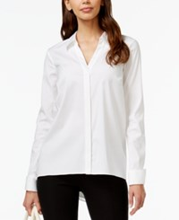 Alfani Zip Back Long Sleeve Top Only At Macy's