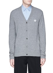 Acne Studios 'Dasher C Face' Applique Cardigan