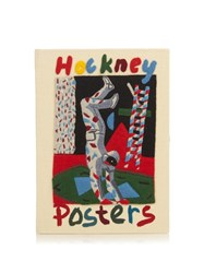 Olympia Le Tan Posters By David Hockney Book Clutch Cream Multi