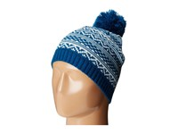 San Diego Hat Company Knh3432 Intarsia Knit Beanie Moroccan Blue Beanies