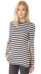 Cheap Monday Road Top Cage Stripe Black White