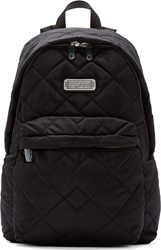 Marc By Marc Jacobs Black Quilted Crowsby Backpack