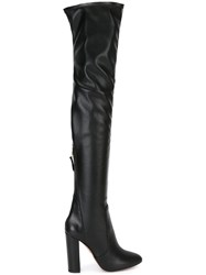 Aquazzura High Thigh High Boots Black