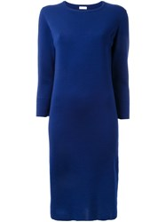 Rito Fitted Knitted Dress Blue