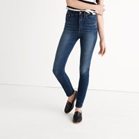 Madewell Rivet And Thread Extra High Skinny Jeans In Topanga Wash