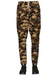 Adidas Camo Cotton Blend Jogging Pants