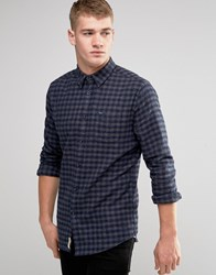 Pepe Jeans Cromwell Shirt Melange Flannel Check Navy Navy