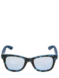 Italia Independent Camouflage Mirror Sunglasses
