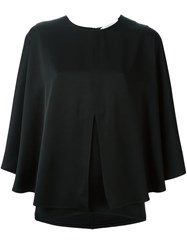 Givenchy Layered Blouse Black