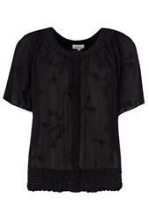 Ghost Pia Top Black