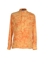 Yoon Shirts Shirts Men Orange