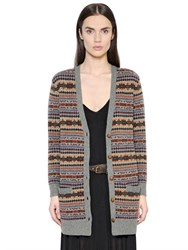 Polo Ralph Lauren Striped Wool Jacquard Cardigan