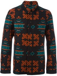 Marcelo Burlon County Of Milan 'Pendleton' Overshirt Multicolour
