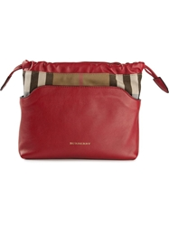 Burberry 'Little Crush' Clutch Red