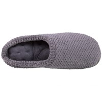 Totes Popcorn Mule Slippers Grey