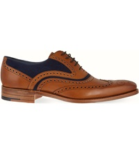Barker Mcclean Oxford Shoes Tan Comb