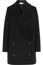 Stella Mccartney Edith Double Breasted Wool Blend Coat