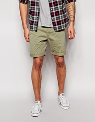 Barbour Chino Shorts Olive