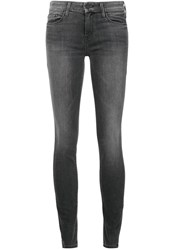 Mother Skinny Jeans Grey