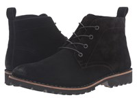 Kenneth Cole Lug Xury Black Men's Lace Up Boots