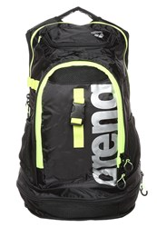 Arena Fastpack 2.1 Backpack Black Fluo Yellow Silver
