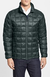 Men's Rainforest Regular Fit Quilted Thermoluxe Packable Puffer Jacket Kale