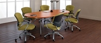 Alba Racetrack Conference Table Grt8wltm By Global