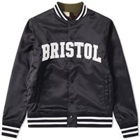 Fc Real Bristol F.C. Arch Star Reversible Stadium Jacket Black