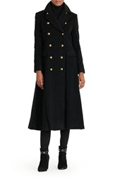 Lauren Ralph Lauren Women's Double Breasted Military Maxi Coat