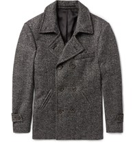 Thom Sweeney Weeney Lim Fit Cahmere Peacoat Charcoal