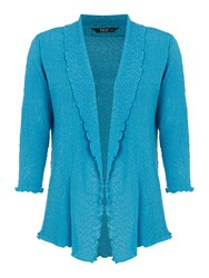 Tigi Edge To Edge Cardigan Blue