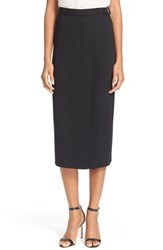 Women's Tracy Reese Crepe Belted Surplice Skirt Nordstrom Exclusive