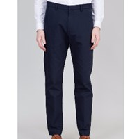Folk Double Navy Counter Trousers