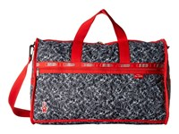 Lesportsac Luggage Large Weekender Scribble Rabbits Duffel Bags Blue