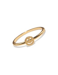 Bing Bang Smiley Face 14K Yellow Gold Ring