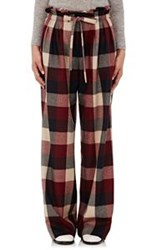 Tomorrowland Paperbag Waist Trousers Red