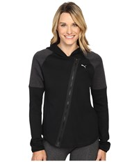 Puma Yogini Jacket Black Dark Gray Heather Women's Coat