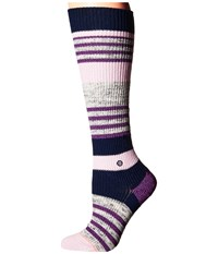 Stance Jinx Navy Women's Crew Cut Socks Shoes