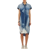 Nsf Mesa Sina Shirtdress Blue