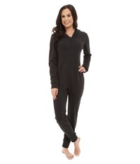 Ugg Gladdy Hooded Onesie Black Bear Heather Women's Pajama Sets Gray