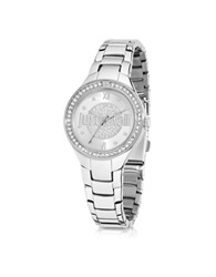 Just Cavalli Just Shade 3H Silver Tone Stainless Steel Women's Watch