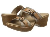 Dansko Jessie Sand Lizard Women's Slide Shoes Tan